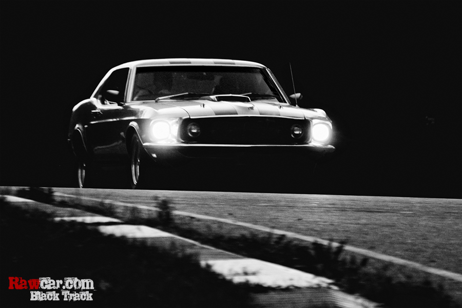 Black Track #1 Mustang