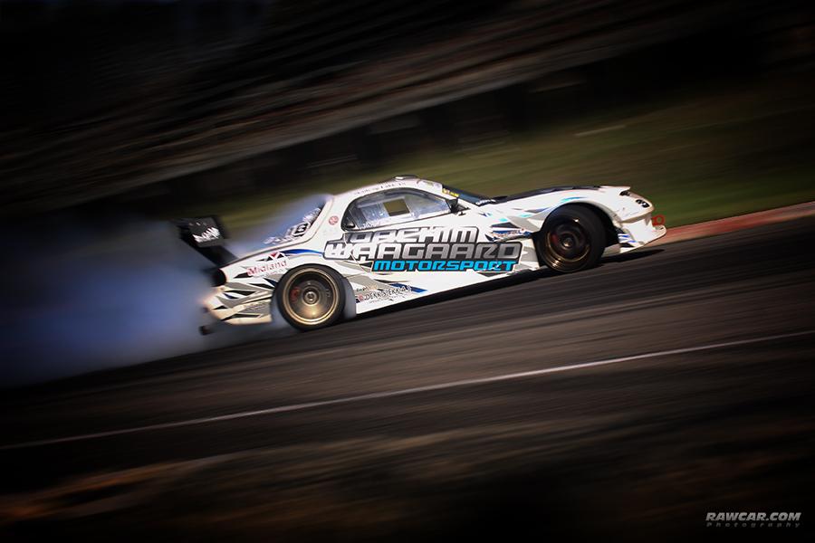Mazda RX-7 drifting