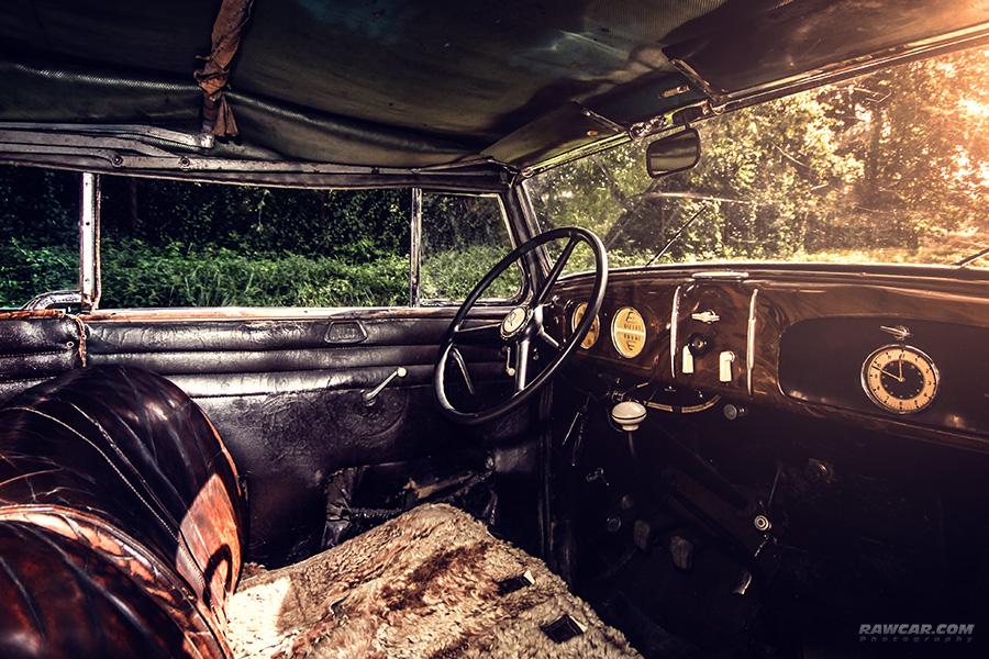 Opel Super 6 Interior